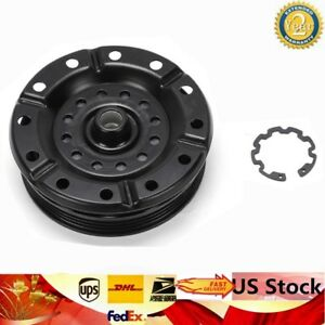 Ac Air Conditioner Compressor Clutch Pulley Kit Fits Toyota Yaris 2007 12 1 5l
