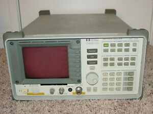 Agilent Hp 8590b Spectrum Analyzer 9 Khz 1 8ghz