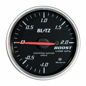 Blitz Racing Meter Sd Analog Meter 52 Boost Meter Black 19571 From Japan