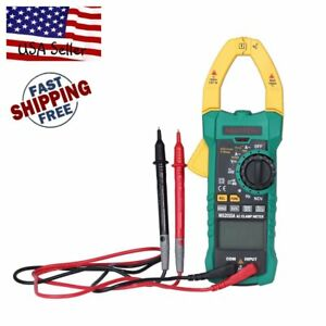 Mastech Ms2015a Digital Clamp Meter Ac dc A v Res Cap Freq True Rms 1000a Ma