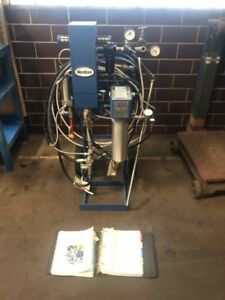 Nordson Paint Sprayer Setup 25b Pump Nh 4 Heater Nice Warranty