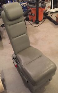 2005 Honda Odyssey Rear 2nd Row Jump Seat Grey Gray Leather
