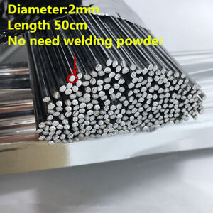100pcs 2mm 50cm Low Temperature Aluminum Flux Cored Welding Rods