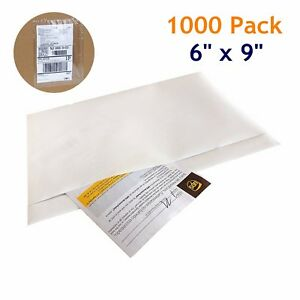 1000 6 X 9 Clear Packing List Invoice Pouches Shipping Envelopes Free Shipping