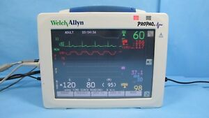 Welch Allyn Propaq Cs Patient Monitor 246 With Nellcor Spo2 Nibp Ecg