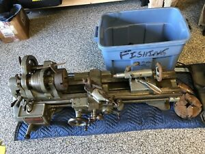 South Bend Lathe 9 Swing 3 Ft Bed Catalog 732 y