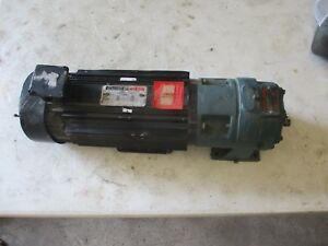 Reliance Electric D c Motor W Dodge Gear Reducer 5161239h New