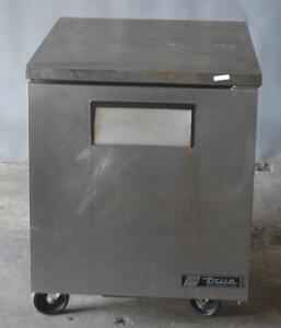 Used True Tuc 27 Commercial Undercounter Refrigerated Worktop Free Shipping