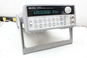 Agilent Keysight Hp 33120a 15 Mhz Function Arbitrary Waveform Generator