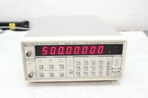 Srs Stanford Research Ds335 3 1mhz Synthesized Function Generator