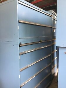 Lista 7 drawer Tool Cabinet Used