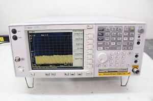 Agilent E4445a Spectrum Analyzer 3 Hz 13 2 Ghz Calibrated Preamp