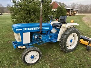 Ford 1510 Compact Diesel Utility Tractor Low Hours Ready To Work 3 Point Hitch