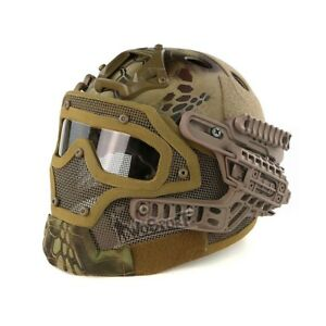 G4 Tactical Helmet PJ FAST OCC DIAL Camouflage CS Game Airsoft Paintball Combat