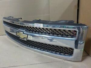 Oem With Emblem Chrome Chevy Silverado 1500 07 13 Grill Grille My3059 15140448