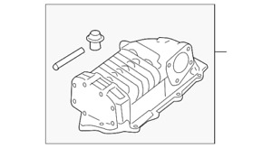 Genuine Nissan Supercharger 14110 5s725