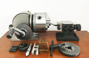 Bs 0 5 Precision Milling Machine Dividing Head Universal Indexing Head New