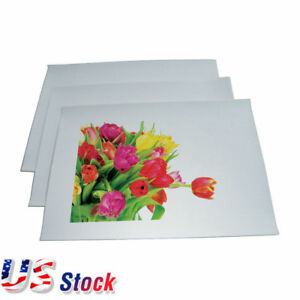 Us Stock 100 Sheets A4 Light Color T shirt Heat Transfer Printing Paper White
