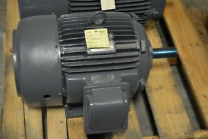 Teco westinghouse 15 Hp 1800 Rpm 254t 460v Electric Motor