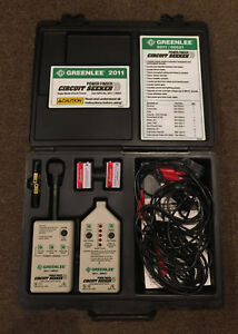 Greenlee 2011 power Finder Circuit Seeker In Very Good Condition Preowned
