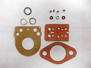 Leyland 154 Nuffield 4 25 Gas Tractor Zenith Carburetor Kit 18g8248