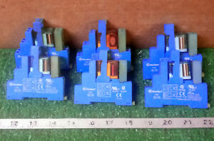 6 Used Finder Relays Type 40 52 W relay Base Type 95 05 make Offer