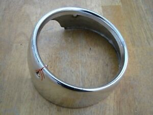 1964 Ford Galaxie 500 Xl Headlight Bezel Trim Ring Part Inner Left Side Driver