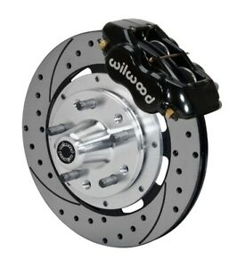 Wilwood 140 11072 d Dynalite Big Brake Series Black 12 19 In Drilled slotted