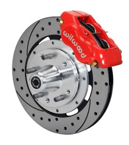 Willwood 140 11072 Dr Dynalite Big Brake Series Red 12 19 In Drilled Slotted