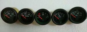 24v Electrical Gauges 52mm Oil Pressure Oil Temp Fuel Temp Volt Gauge