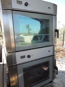 Combi Oven convection Oven wiesheu Oven Mdl B04 em Double Stack