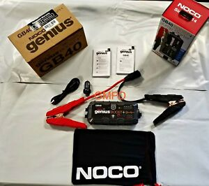 Noco Genius Boost Hd Gb40 1000 Amp Ultra Safe Lithium Jump Starter 12v New
