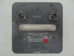 Gr General Radio Company Type 1404 a Reference Standard Capacitor