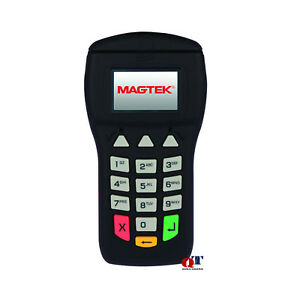 New Magtek Ipad 100 Card Reader Magnetic Swipe 30050200 Keypad Display Usb 2 0