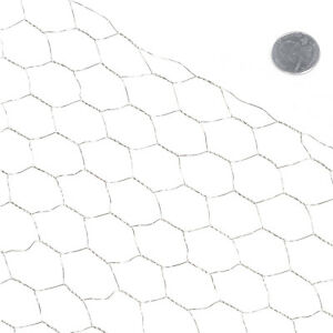 Fencer Wire 20 Gauge Galvanized Poultry Netting 4 Ft X 50 Ft Mesh Size 1