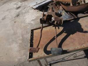 69 Chevy Clutch And Brake Pedal Assembly