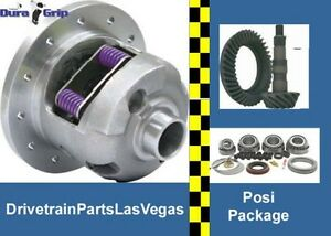 Gm Chevy 8 2 10 bolt Rearend Eaton style Posi Gears Bearing Package 3 55 Ratio