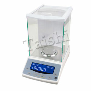 Digital Precision Scale Lab Analytical Balance Used 200 0 0001g 0 1mg With Ce