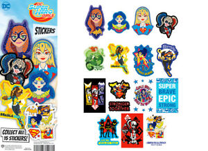 Tattoo Flat Vending Machine Capsule Toys Dc Comics Superhero Girls Stickers