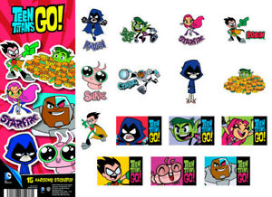 Tattoo Flat Vending Machine Capsule Toys Dc Comics Teen Titans Go Stickers