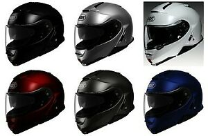 Shoei Neotec II Solid Color Modular Flip-Up Motorcycle Helmet *FAST SHIPPING*