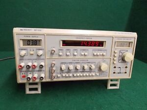 Digital Multimeter Function Generator Frequency Counter Power Supply Lab