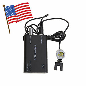 Usa Portable 10 Dental Led Head Light Lamp For Surgical Medical Binocular Loupe