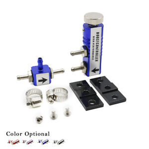 Blue Universal Adjustable Manual Turbo Boost Controller Kit 1 30 Psi In cabin