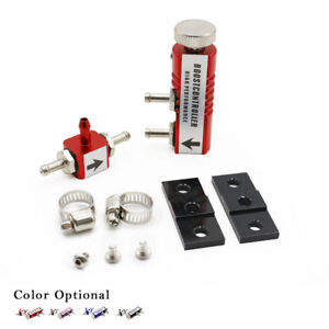 Red Universal Adjustable Manual Turbo Boost Controller Kit 1 30 Psi In Cabin