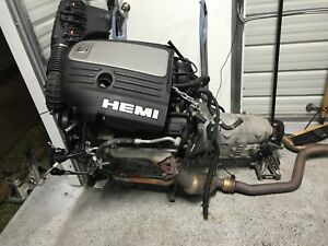2008 Chrysler 300c 5 7l Hemi Engine And Transmission Complete Drop Out Swap