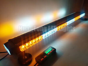 38 Display Controller Led Light Bar Warn Emergency Response Strobe Amber White