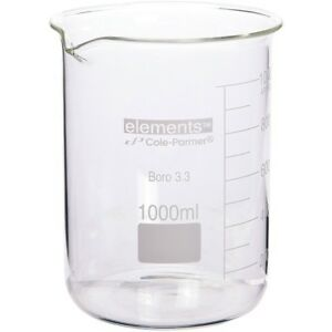 new 10 Large Borosilicate Beakers 1000ml 1500ml 2000ml