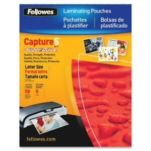 Fellowes 5223001 Laminating Pouch Letter 100pk