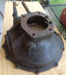 Model A Ford Engine Transmission Clutch Cover Bell Housing 1928 1929 1930 1931